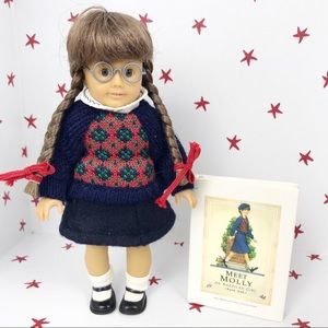 American Girl Pleasant Co Mini Molly Doll RARE